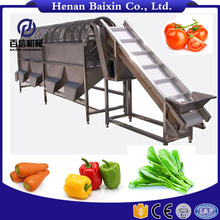 Hot Sale Full Automatic Leaf Vegetable Washing Cleaning Processing Machine Manufacturer