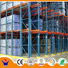 ISO industry warehouse drive in pallet rack drive through racking system