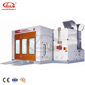 Guangli CE &ISO Certification High Quality Auto Car Paint Spray Booth
