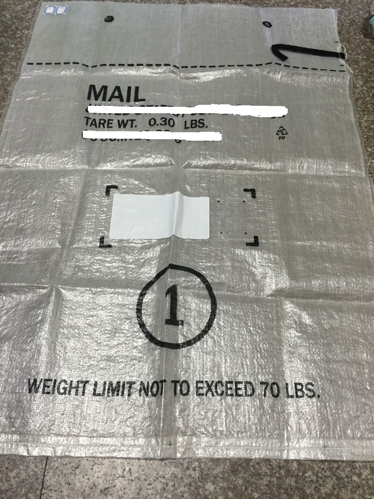 PP Mailing Bags for 50kg self-adhesive packing