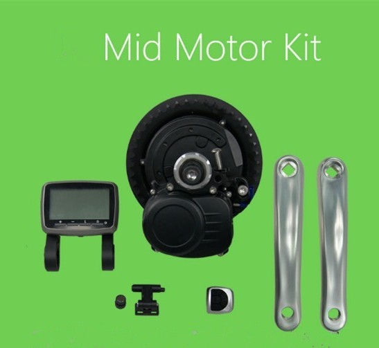 Multifunctional 36v 250w/350w Middle driven Motor kits with battery Electric bike motor dental clean