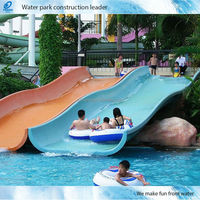 Used Fiberglass Pool Water Slides for Swimming Pool Equipment for Kids Water Play