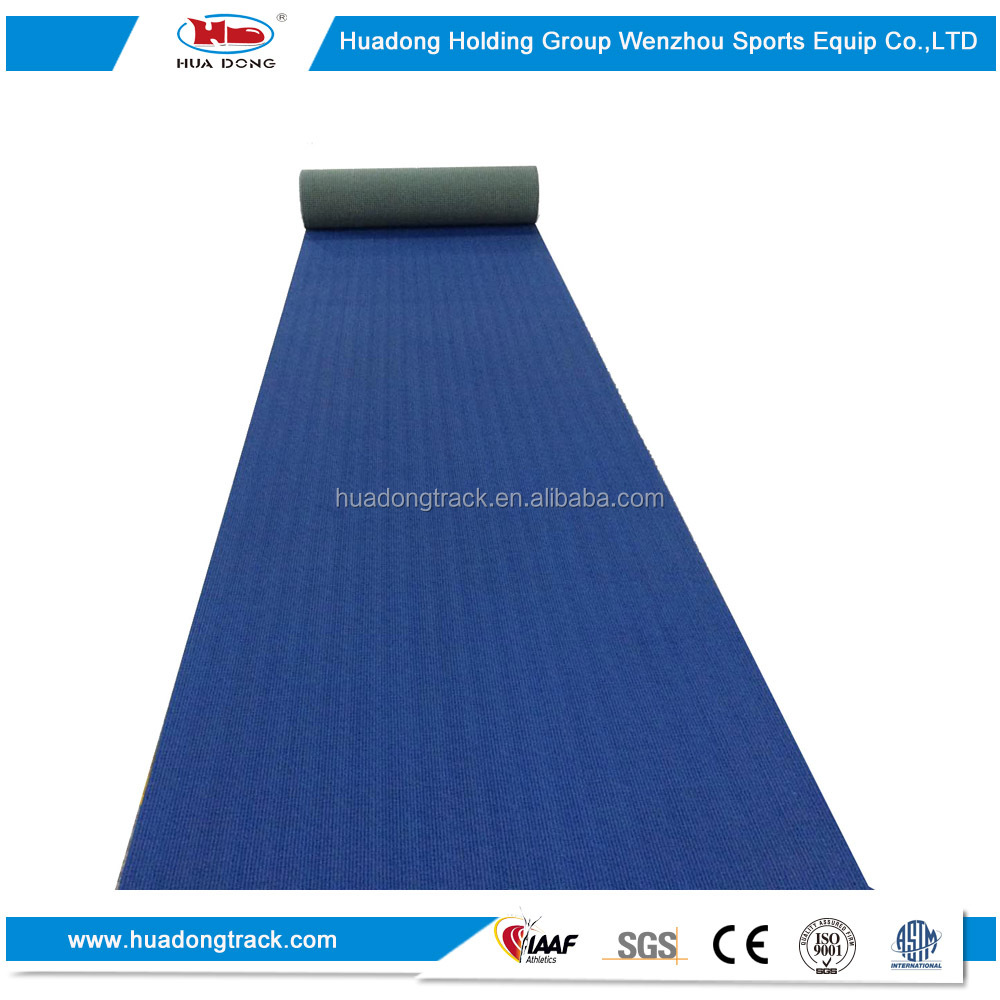 All weather synthetic athletic track sports rubber flooring roll