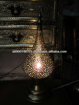 Morrocan table lamp