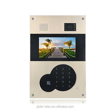 Jade 2016 hot sales multi apartments / villa video intercom system CE/ ROHS high quality hand free video door