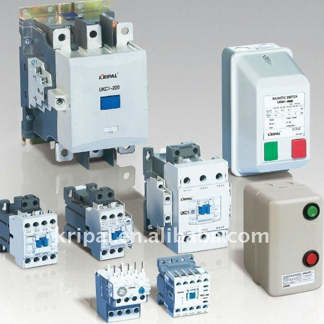 ac contactor magnetic electrical overload relay mini contactor dc
