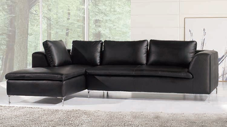 Family room full leather executive suite corner sofa
