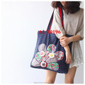 china cheap handmade linen shopping bag for storage