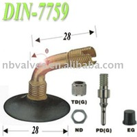 DIN7759 motorcycle tire valves