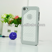 Napov - Dog & Bone Cushy White Silicon Pattern Unique Design for iphone 5 5s cell phone case