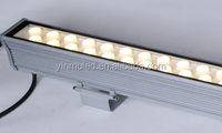 Edgelight decorative lighting fixture led outdoor light RGB color aluminum profile led strip light CE/ROHS wall washer