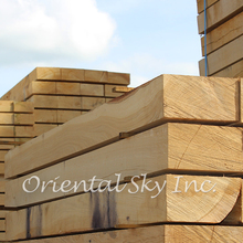 New Untreated Wood Lumber Railway Ties, Railway Cross Ties, Railway Sleepers