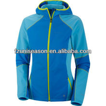 10000mm waterproof softshell jacket for woman
