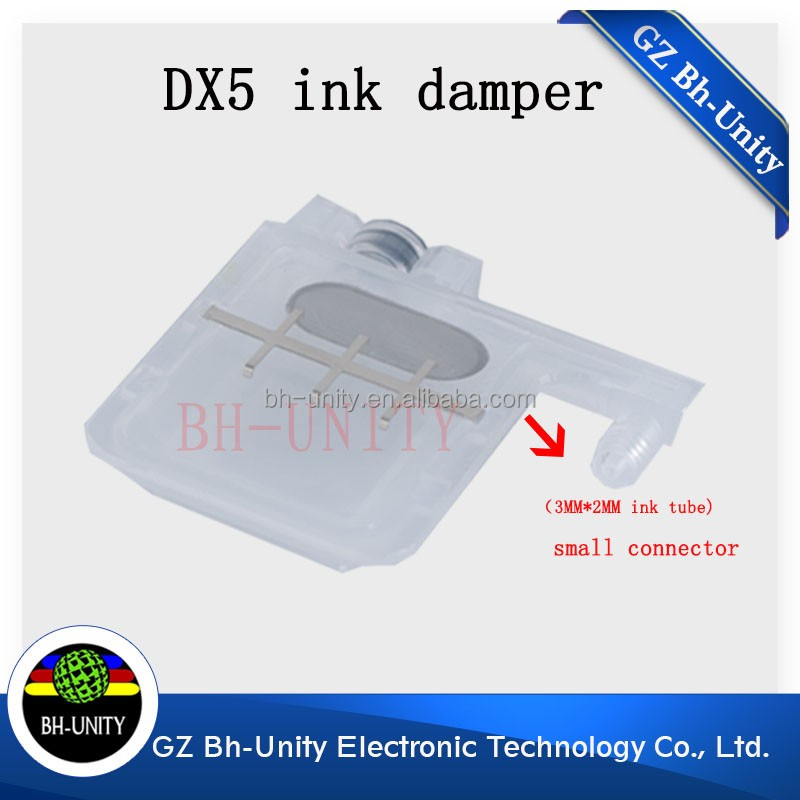 Printer spare parts DX4 DX5 printhead ink damper for Roland Mimaki digital printing machine.