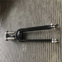 double shoulder new design suspension aluminum alloy bicycle fork bike front fork for sale China