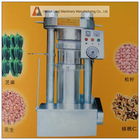 Low price hydraulic nut & seed oil expeller oil press from manufacturer