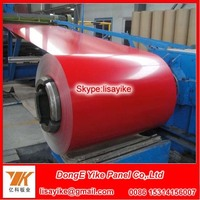 Environmentally ppgi prepainted galvanized steel coils mill