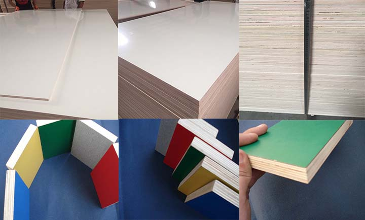 4x8 High glossy hpl laminated plywood price