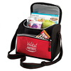 Pack U-Shaped Zippered Insulated Carry Square Cooler Bag Heavy Duty