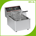 Hotel Restaurant Kitchen Equipment Single Tank Desktop Electric Fryer BN-6L