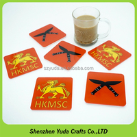 Personalized Acrylic Craft Coaster Set Acrylic Material Table Drinks Cup Mat Coasters