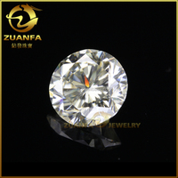 top quality star cut 15mm loose synthetic gemstone zuanfa moissanite stone