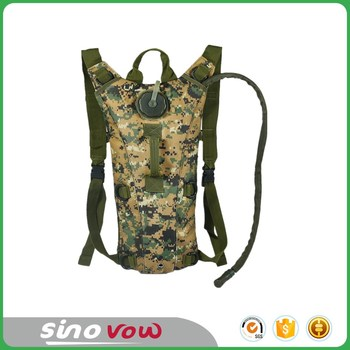 Hydration Backpack with 3L Water Bag Water Backpack for Hunting Climbing Running and Hiking