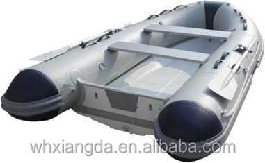 China CE Manufacture PVC or Hypalon Inflatable Fiberglass Fishing Boat