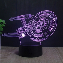 3D illusion Lamp LED Night Light Acrylic lamparas Atmosphere Lamp Novelty Lighting
