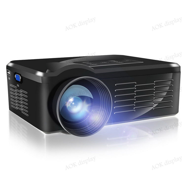 LED Projector Home Cinema Theater 1500 lumens support 1080P HD PC Laptop HDMI VGA USB Input