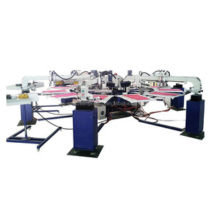 Automatic Rotary Screen Press Screen Printing