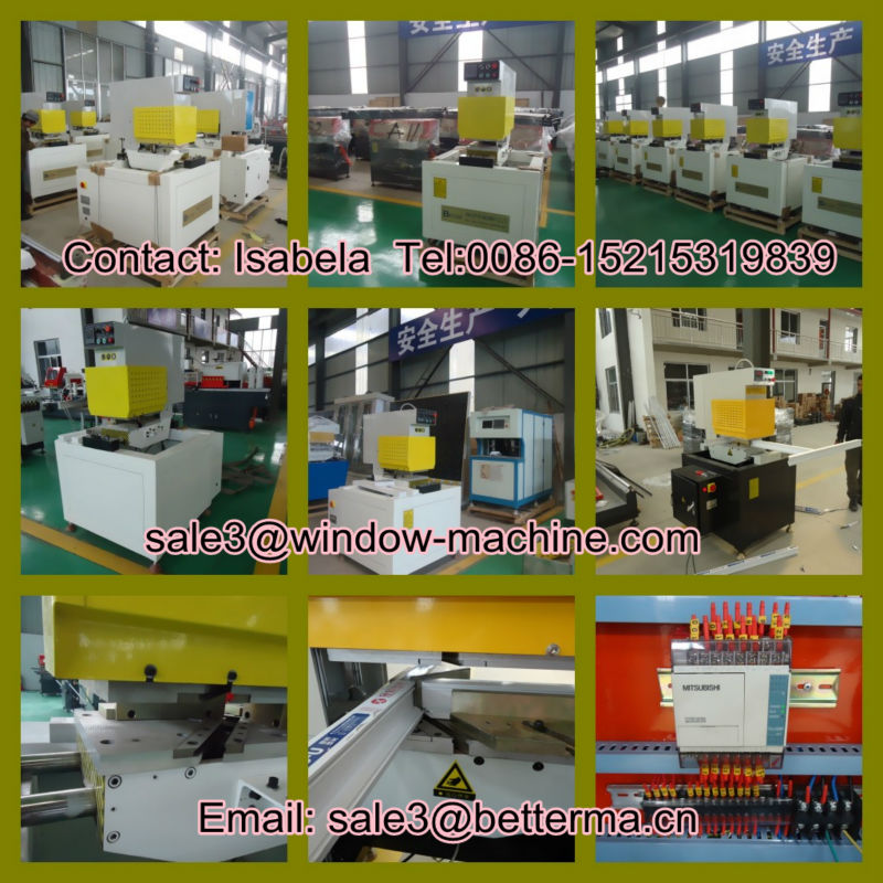 Single Head Variable Angle Welding Machine / PVC window door welding machine / UPVC Plastic window machines