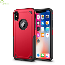 2018 New Air Cushion Shock Protective Hybrid Armor Mobile Phone Case For iPhone X Back Cover