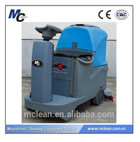 RD560 hot sale big capacity battery powered long work time floor scrubber