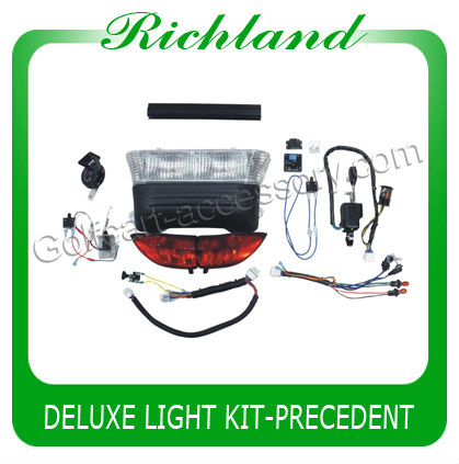 deluxe club car precedent light kit for used golf cart ,golf cart light kit