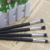 4pcs rose gold synthetic hair eyeshadow makeup brush brochas para maquillaje
