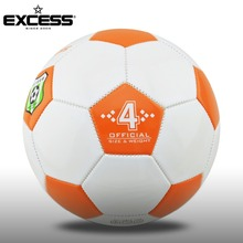 PVC leather soccer ball size 3 2 1 bulk