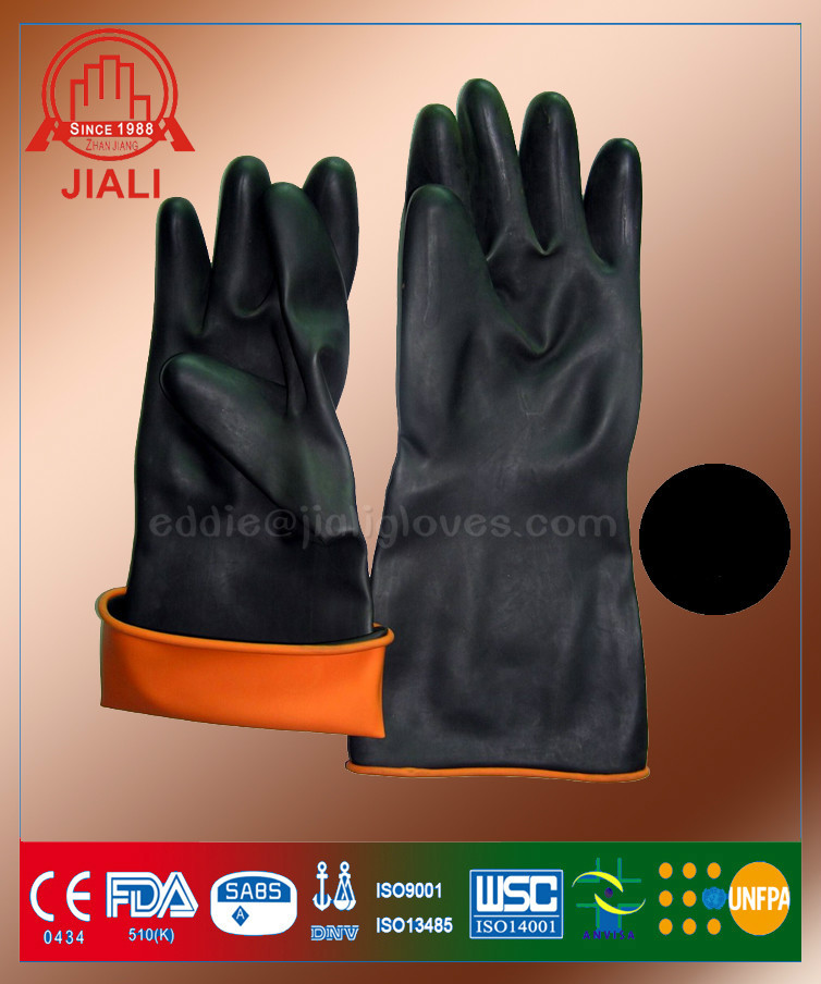 how to get rubber glove training