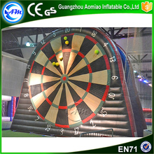 Outdoor inflatable dart game dart board game with balls