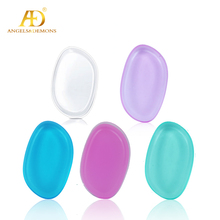 Hot sale Wholesale Beauty Makeup Foundation Blender Sofe Washable Transparent Cosmetic Silicone Powder Puff
