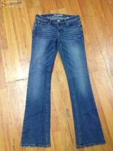 Surplus Stock Lots Discount Trendy Womens Stretch Bootcut Low Cut New Jeans Denim