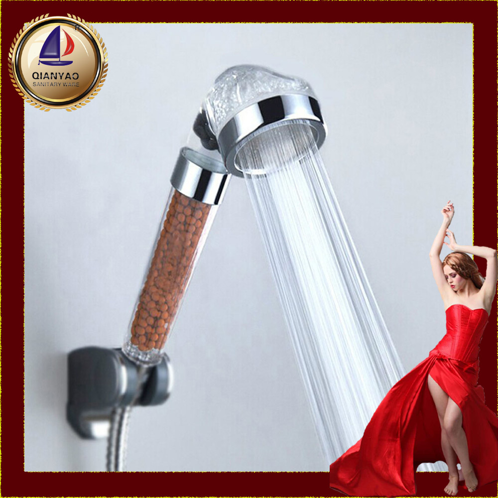 C-158-1 Qianyao Cixi PC Hot Selling Water Saving Beautiful Shower Head