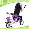 Kid tricycle with canopy, steel frame child baby trike, detachable bicycle child tricycle