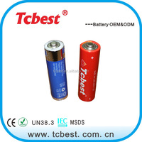 Top selling AM-3 1.5V LR6 AA Alkaline Battery