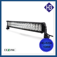 HOT SALE Car Accessories 108W Offroad LED Working Light Bar 19.6 Inch Drivng Light