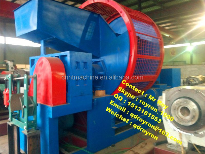 Automatic waste tire recycling line vehicle tyre recycling