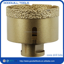 Thread core sample drill bit
