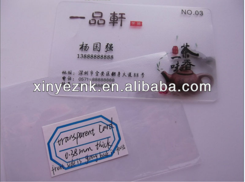 HOT!plastic business cards online