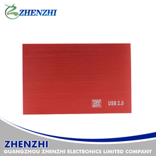 Stylish Hot selling Aluminum 2.5' External HDD Enclosure USB2.0 To Sata