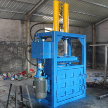 hot sale waste paper hydraulic cotton bale press machine